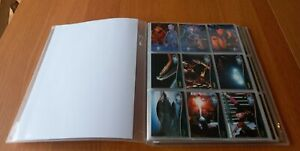 FARSCAPE TRADING CARDS SEASONS 1-4 IN PROTECTIVE BINDER COLLECTION 2001-2003.