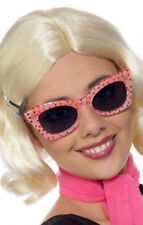 1950'S STYLE PINK POLKA DOT SPECS - MELBOURNE LOCATION