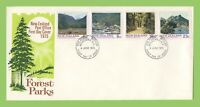 New Zealand 1975 Forest Parks set First Day Cover