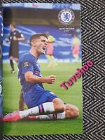 Chelsea v Manchester City VERY LIMITED COLLECTOR'S EDITION PROGRAMME 25/6/2020!