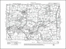 Partridge Green E, Wyndham, Kent Street, old map Sussex 1912: 38NW repro