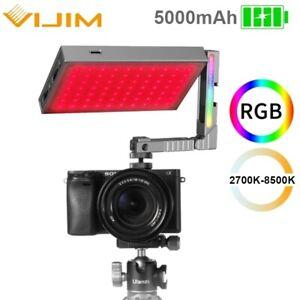 Ulanzi VIJIM R70 Metal RGB LED Video Light 2700K-8500K 5000mAh Photo Fill Light