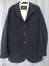 Loro Piana Men's Cotton Jacket Dark Blue Size XL