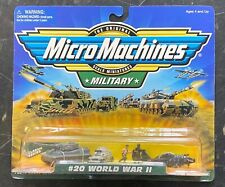Micro Machines Military #20 World War II Tank Plane 70019 1998 Galoob NIB
