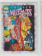 Marvel Beginnings Comic Cover New Mutants Vol.1 #98 Feburary 191 #B-62