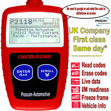 OBD 2 EOBD Car Diagnose Tester Diagnostic Scanner U480 For Ford,Mini,Merc,Bmw