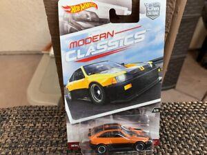 Hot Wheels Premium Modern Classics 85 Honda CR-X on card