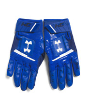 Under Armour Harper Hustle Batting Gloves YOUTH M, L, Blue, Baseball, B47 MP