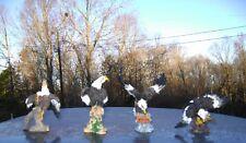 NEW~ Set of 4 Bald Eagle Figurines