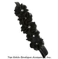 Cotton Knit Headband 1.5 Inch Hair Head Band Bows Seamless Custom Newborn Infant