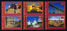 UN - Geneva . 2000 Spain World Heritage Booklet Singles (6) . Mint Never Hinged