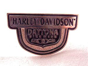 Harley-Davidson Daytona Bike Week Lapel Pin 2002 Motorcycle Biker Vest Button