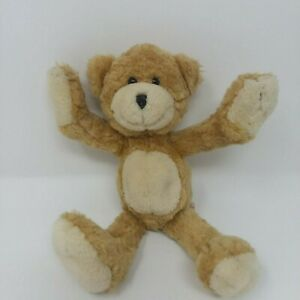 "Teddy Hermann GmbH Hirschaid Germany 10"" Plush Poseable Bear EUC RARE BEAR"