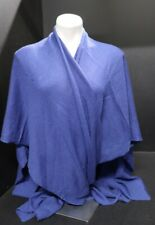 Beryll Blue Cashmere Shawl Sweater NWT