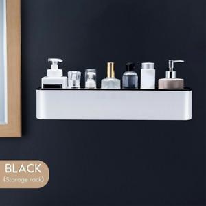 Bathroom Shelf Shower Organizer Wall Mount Storage Shampoo Rack with Towel Bar