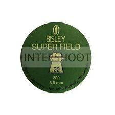 BISLEY SUPERFIELD .22 Pellets Domed Rounded Hunting