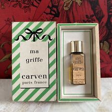 MA GRIFFE BY CARVEN 1/6 OZ 1960s OLD EDITION Réf E