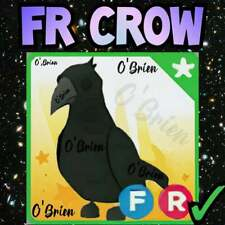 🤩 (FR) CROW 🤩 Fly Ride . Adopt me - Roblox. Legendary Farm Egg pet toy game