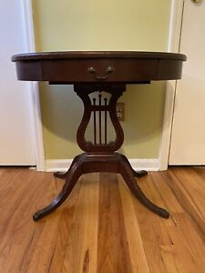 Mersman Lyre Side Table - End table