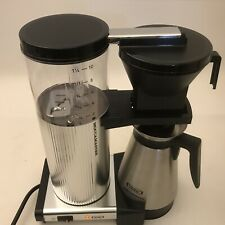 Moccamaster Cdgt Automatic Drip-Stop 40oz Coffee Maker - Polished Silver,