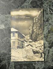 CARTOLINA BELLUNO CORTINA RIFUGIO CANTORE VIAGGIATA 1932 SUBALPINA HH