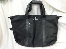 "Hublot Swiss Watch Co. Luxury Black Canvas Gym Travel Tote Bag 24"" X 16"""