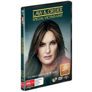 Law And Order SVU - Special Victims Unit : Season 21 : NEW DVD