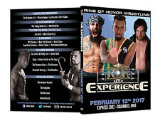 Official ROH Ring of Honor - The Experience 2017 Event DVD