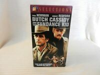 Butch Cassidy and the Sundance Kid (VHS, 2002, Selections) Newman & Redford