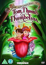 Adventures Of Tom Thumb and Thumbelina [DVD] New Sealed UK Region 2