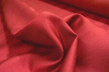 """2NDS FABRIC RED HERRINGBONE STRIPE UPHOLSERY DRAPERY FABRIC 55"""" W SOLD BY THE YD"""