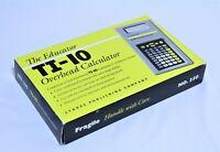 Overhead Calculator The educator TI-10  (New)