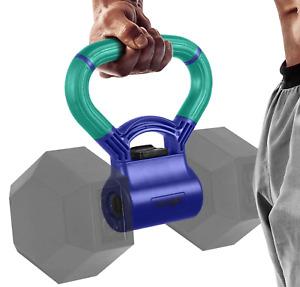 Kettle Grip Handle for Dumbbells Kettlebell Fitness Equipment Teal/Mint Purple
