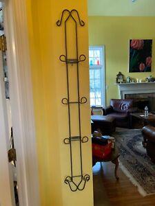 50 Inch Metal Wall Rack Plate Holder