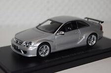 Mercedes CLK DTM AMG Coupe Straßen Version silber 1:43 Kyosho neu & OVP 03218S