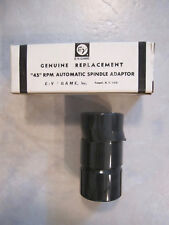 Electro Voice Gerrard LRS-20 NOS 444S 45 RPM Record Spindle Stacking Adapter