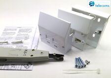 2018 VDSL2/ADSL BT Master Socket Phone Filter Faceplate IDC Punch Tool KIT NTE5A