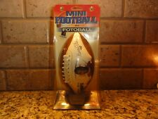 Mini Football Marcus Allen #32 Kansas City Chiefs with Kicking Tee in package