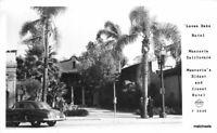 1940s Monrovia California Leven Oaks Hotel Frasher RPPC real photo 10220