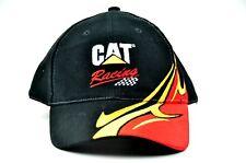 Caterpillar Cat Racing w/ Flames Strapback Hat Cap Free Shipping