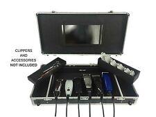 Clipper Keeper Case Barber Supplies Storage Display Organizer Trimmer Scissor