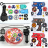 Beyblade Fusion Top Metal Fight Master 4D Rapidity Set Kids Spinning Top Toy