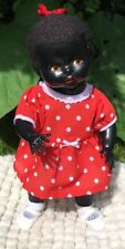 Pedigree Black / Ethnic Hard Plastic Doll - Moveable Joints 20 Inches