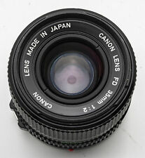 Canon FD Lens 35mm 1:2 2 35 mm - AE-1 F-1 A-1