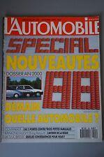 """""""L'AUTOMOBILE MAGAZINE"""" NUMÉRO 496 OCTOBRE 1987 - SPÉCIAL NOUVEAUTÉS 1988"""