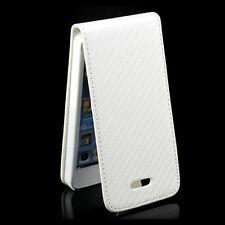Carbon Case Apple iPhone 5 5S SE Handy Tasche Etui Cover Bumper Schutz Hülle