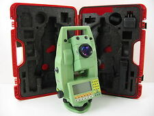 """LEICA TCRA1105 Plus 5"""" ROBOTIC TOTAL STATION FOR SURVEYING, ONE MONTH WARRANTY"""