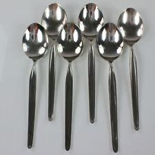6 WMF Zürich SpeiseTafel Suppen Löffel 90er Silberauflage altes Besteck, alt