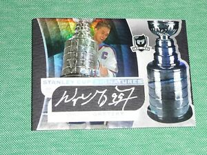 2008-09 The Cup WAYNE GRETZKY Auto *21/50* Stanley Cup Signatures Autograph L@@K