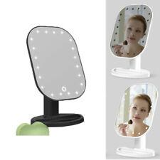10x Specchio Ingranditore con Specchio da Trucco A Led
